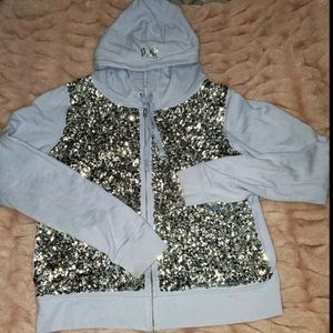Limited Edition sequined PINK by VS zip up